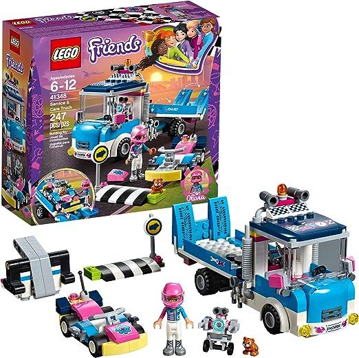 41348 Lego Friends Servicio Y Cuidado Camión 247 piezas 6 años