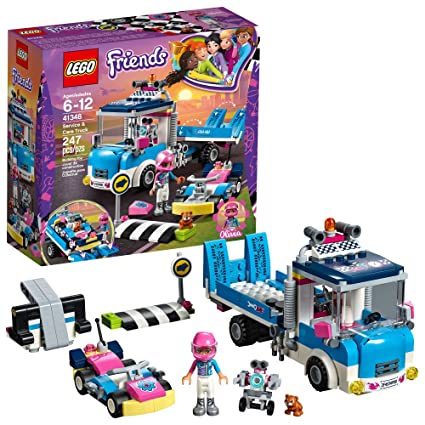 Amazoncom Lego Friends Service And Care Truck 41348 Building Kit