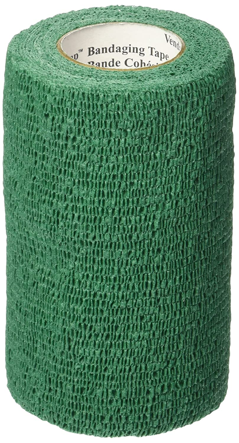 3M Vetrap Tape Roll for Dogs Cats and Horses 2-inch by 5-Yard Hunter Green