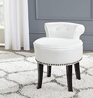 Amazon.com: Georgia Vanity Stool, Rose: Kitchen & Dining