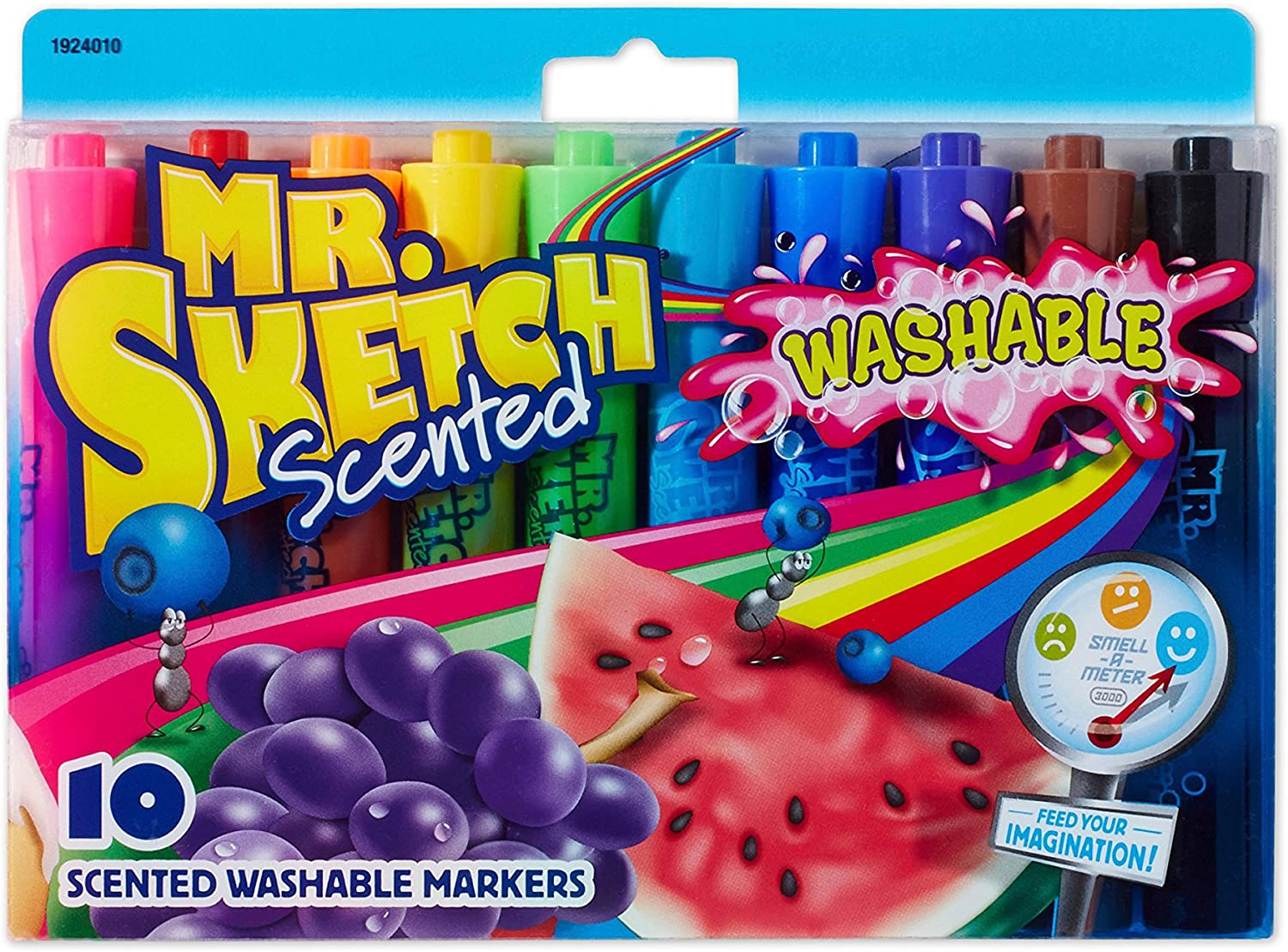 6-Count Holiday Scents Mr Sketch Scented Markers Chisel Tip Holiday Colors