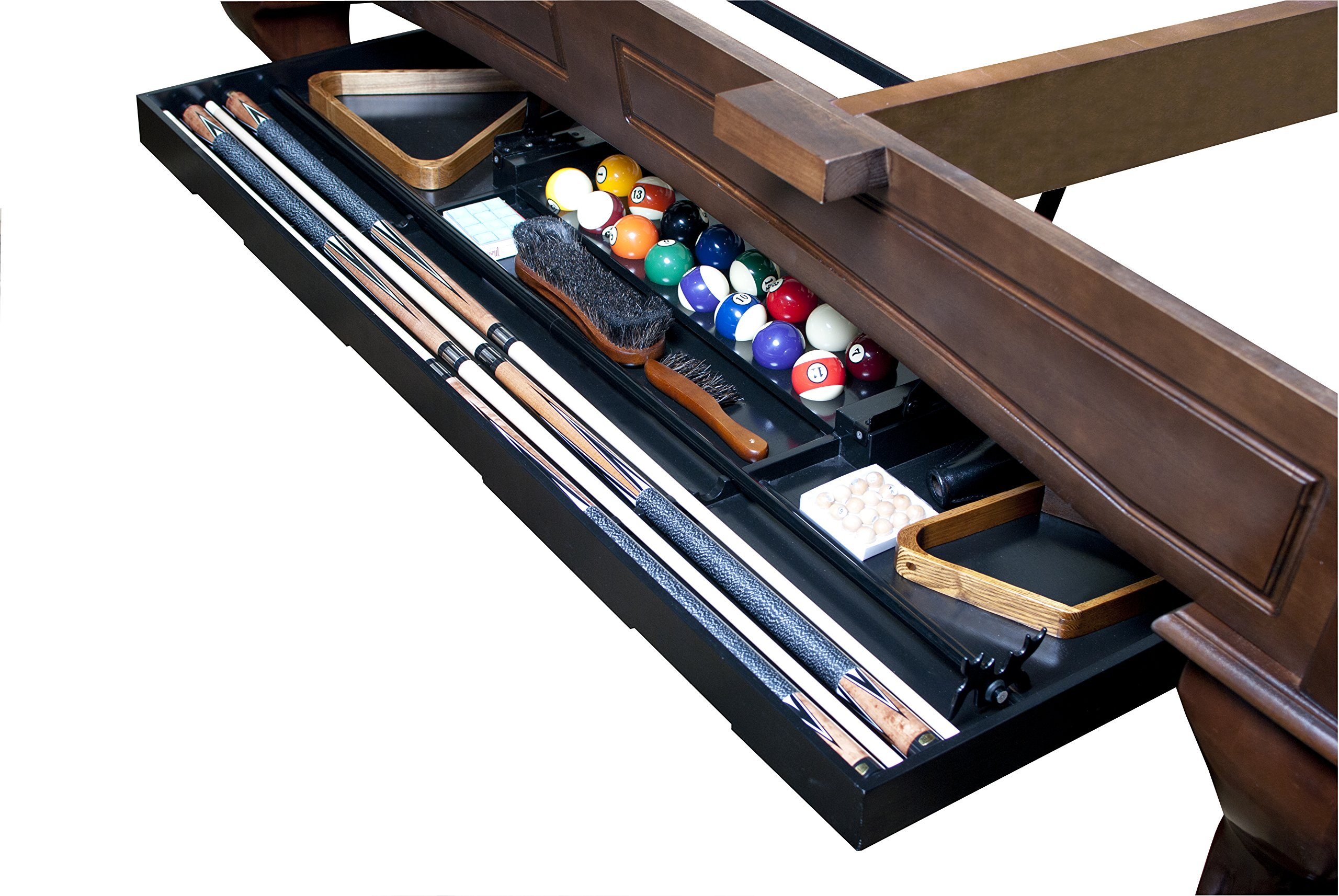Legacy Billiards Perfect Drawer Cue Rack for 8' Billiard Table