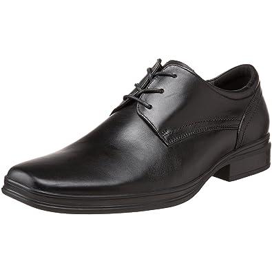 2949b0fc419 Amazon.com | Steve Madden Men's Trakshun Oxford, Black Leather, 10 M ...