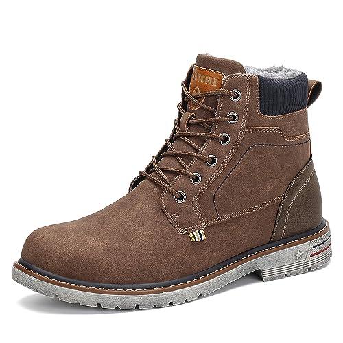 Hombre Botas de Nieve Al Aire Libre Senderismo Impermeables Deportes Trekking Zapatos Invierno Forro Piel Sneakers Calientes Botines: Amazon.es: Zapatos y ...