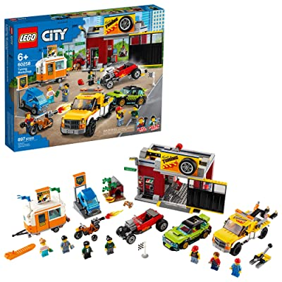 LEGO City Tuning Workshop Toy Car Garage 60258, Cool Building Set for Kids, New 2020 (897 Pieces): Toys & Games