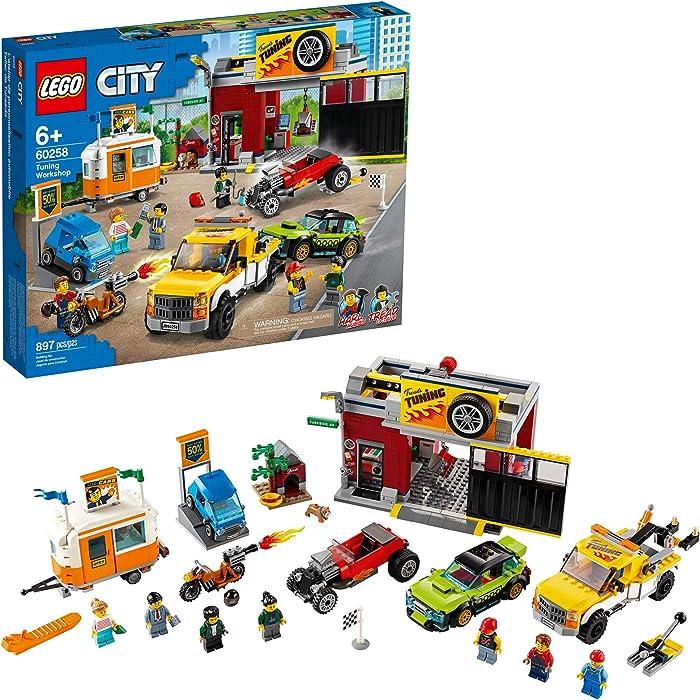 Top 7 Lego Food Truck