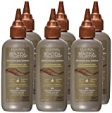 Clairol Beautiful Collection Advanced Gray Solution Hair Color, 3 fl oz, Light Golden Chestnut