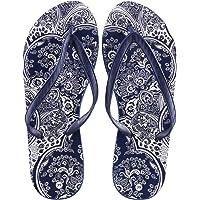 DeFacto Desenli Parmak Arası Terlik Moda Ayakkabılar Kadın