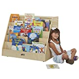 ECR4Kids Birch Book Display Stand with