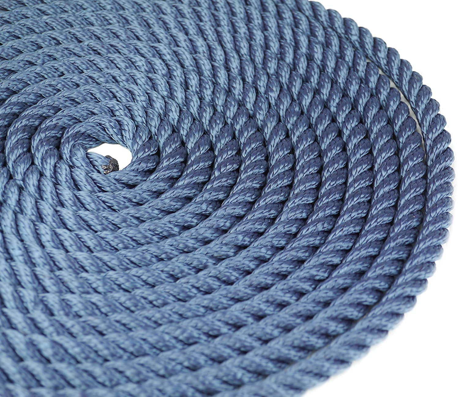 3 Colours Spliced Loop At One End Savage Island 2 x 14mm Docking Boat Yacht Lines Mooring Sailing Rope 3 Lengths Available