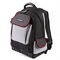 IRONLAND 0304 Tool Backpack Bag with An Independent Tool Wall, 57-Pocket