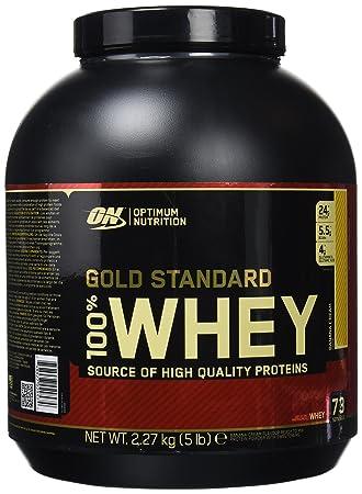 Optimum Nutrition Gold Standard 100% Whey Proteína en Polvo, Platano - 2270 g: Amazon.es: Salud y cuidado personal