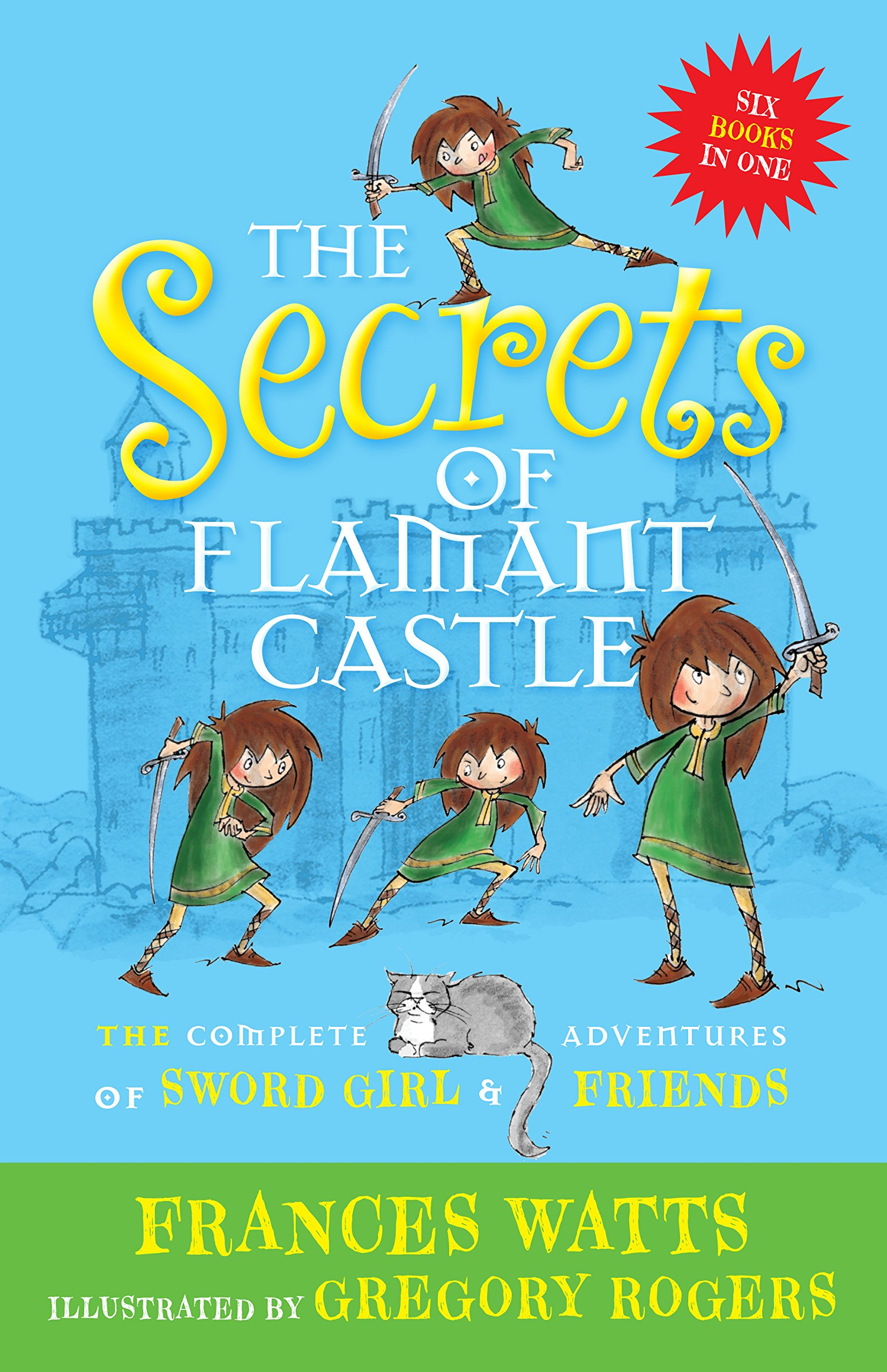 Download The Secrets of Flamant Castle: The Complete Adventures of Sword Girl and Friends pdf