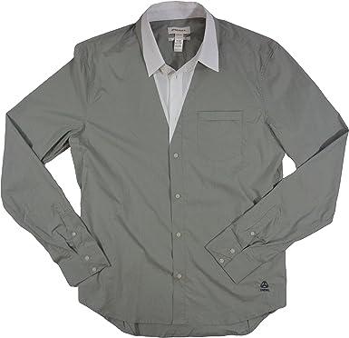 Diesel Camisa blanca con botones Spapo Camicia para hombre ...