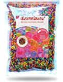 Water Gel Beads MarvelBeads Non-Toxic Rainbow Mix (1 Pound Bulk) for Orbeez Spa Refill, Kids Sensory Toys and Décor (16 ounces)