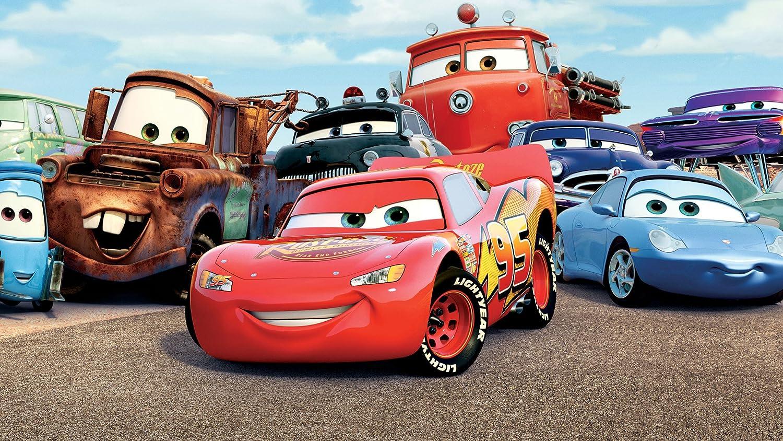 Posterhouzz Movie Cars Lightning Mcqueen Car Hd Wallpaper 12 X 18