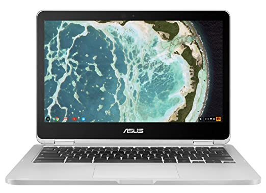 """ASUS C302CA-DH54 Flip 12.5"""" Touchscreen Convertible Chromebook Intel Core m5, 4GB RAM, 64GB Flash Storage Internal Solid State Drives at amazon"""
