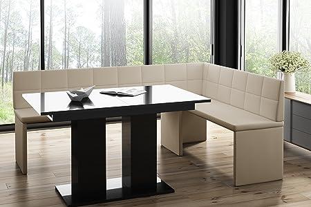 Tavolo Da Cucina Con Panca Angolare.Mystylewood Marta Panchina Ad Angolo Con Tavolino A Colonna