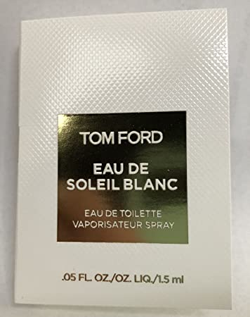 Amazon.com   Tom Ford Eau De Soleil Blanc Eau De Toilette Mini Spray Vial  For Women 0.05 Oz   1.5 ml Brand New Item   Beauty 9558b229f067