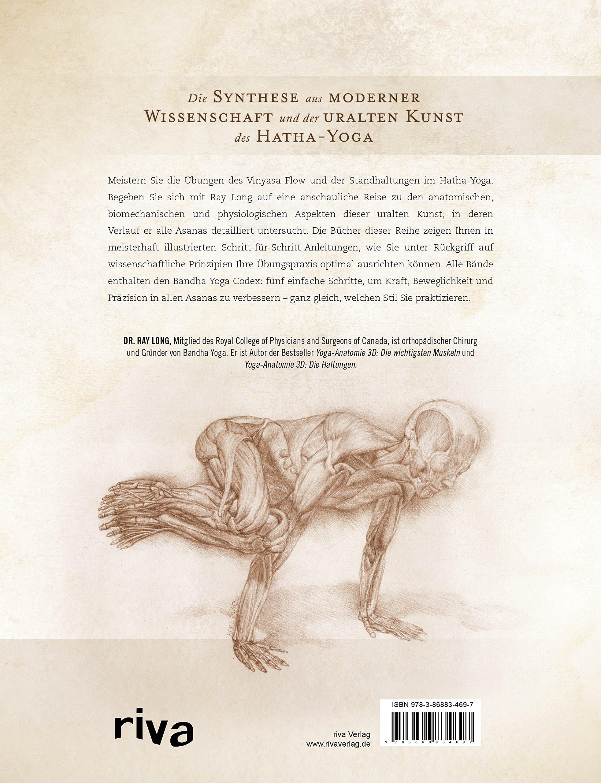Yoga-Anatomie 3D: Vinyasa Flow und Standhaltungen: Amazon.de: Ray ...