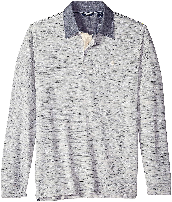 Izod Mens Saltwater Long Sleeve Shirt At Amazon Mens Clothing Store