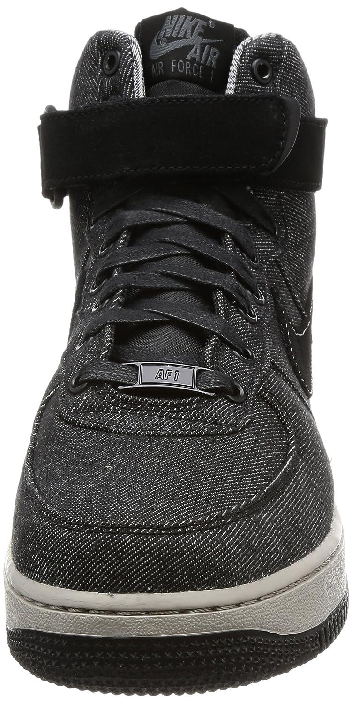 on sale afc0a 103db Amazon.com   Nike WMNS AIR Force 1 HI SE Womens Fashion-Sneakers  860544-003 11.5 - Black Dark Grey-Cobblestone   Fashion Sneakers