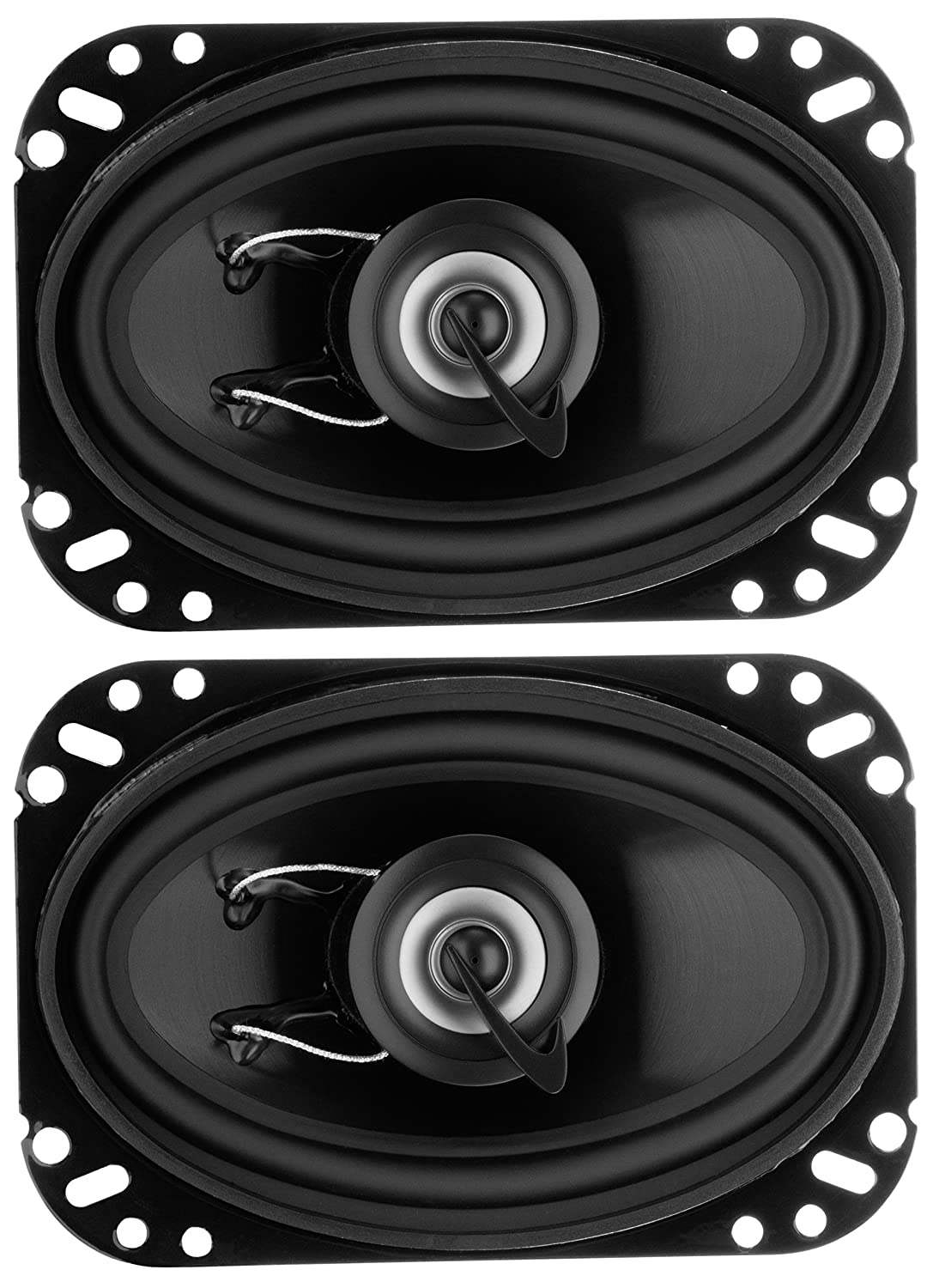 Planet Audio TRQ462 4 x 6 Inch Car Speakers - 200 Watts of Power Per Pair, 100 Watts Each