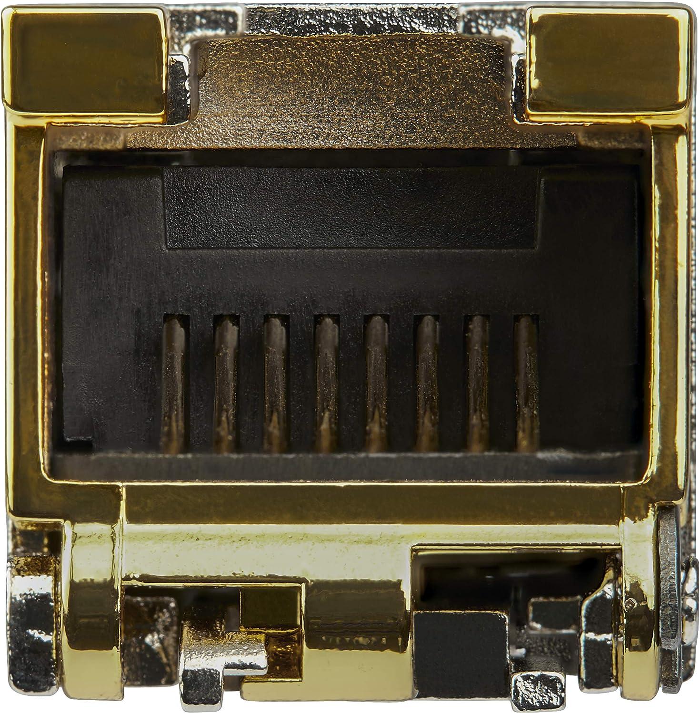 1000BASE-T SFP to RJ45 Cat6//Cat5e 1GE Gigabit Ethernet SFP RJ-45 100m - StarTech.com Juniper SFP-1GE-FE-E-T Compatible SFP Module SFP1GEFEETST