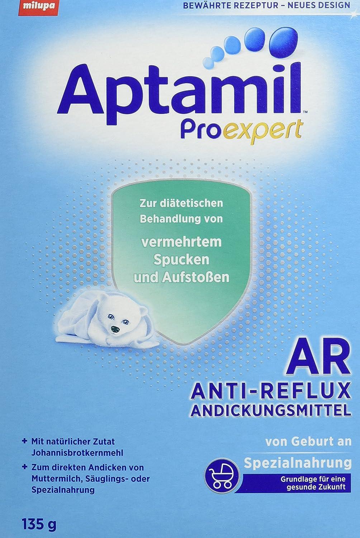 Aptamil AR Andickungsmittel von Geburt an, 6er Pack (6 x 135 g) 602189 Andicken Aufstoßen Reflux