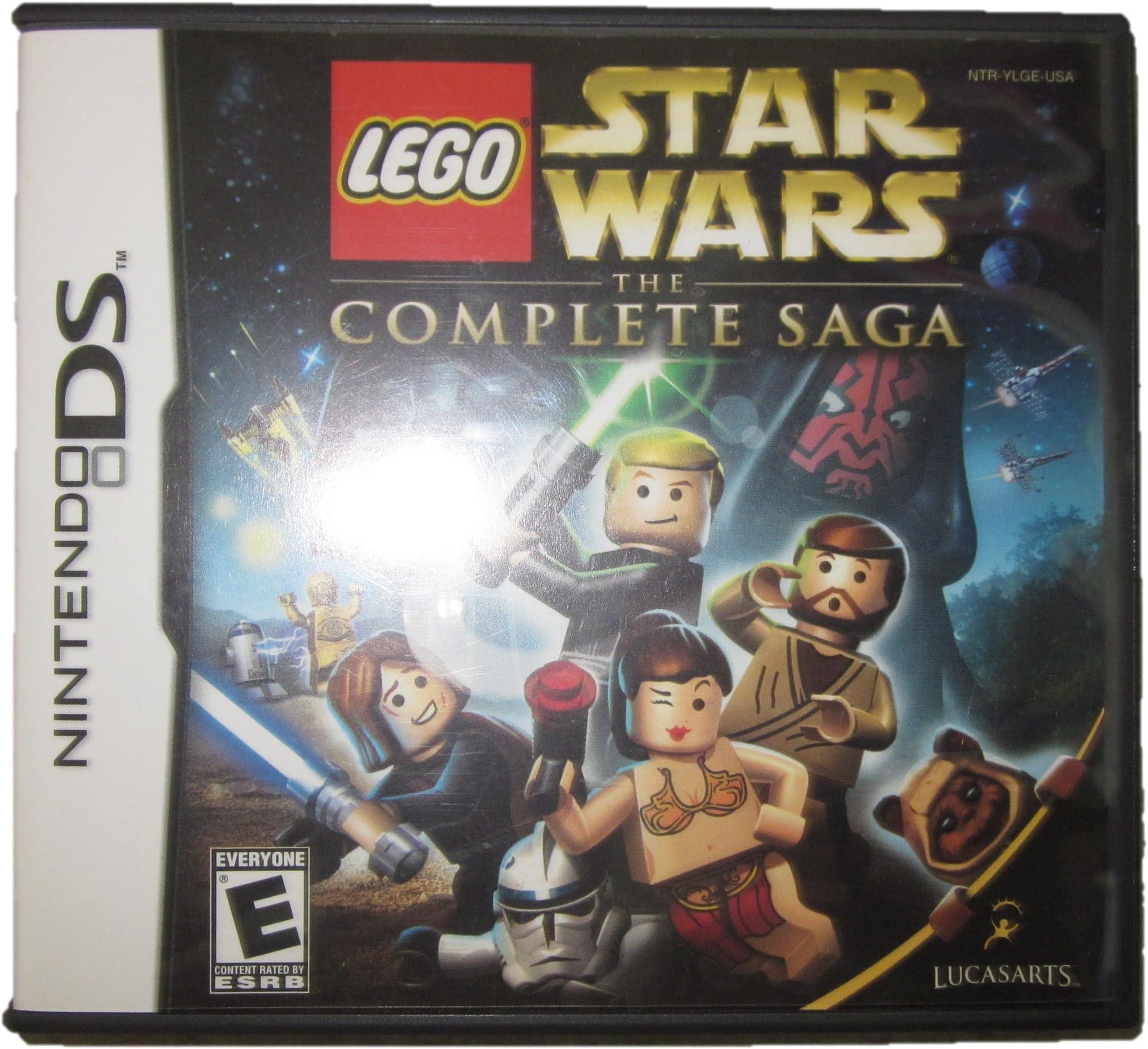 amazon com lego star wars the complete saga nintendo ds case and rh amazon com lego star wars wii guide lego star wars wii guide