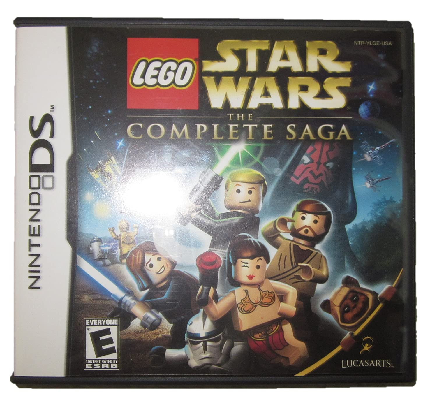Lego Star Wars: The Complete Saga, Nintendo DS, Case and Manual only (no game cartridge)