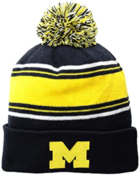 b611558870ac5 NCAA Michigan Wolverines Men s Winter Knit Ambient Warm Hat