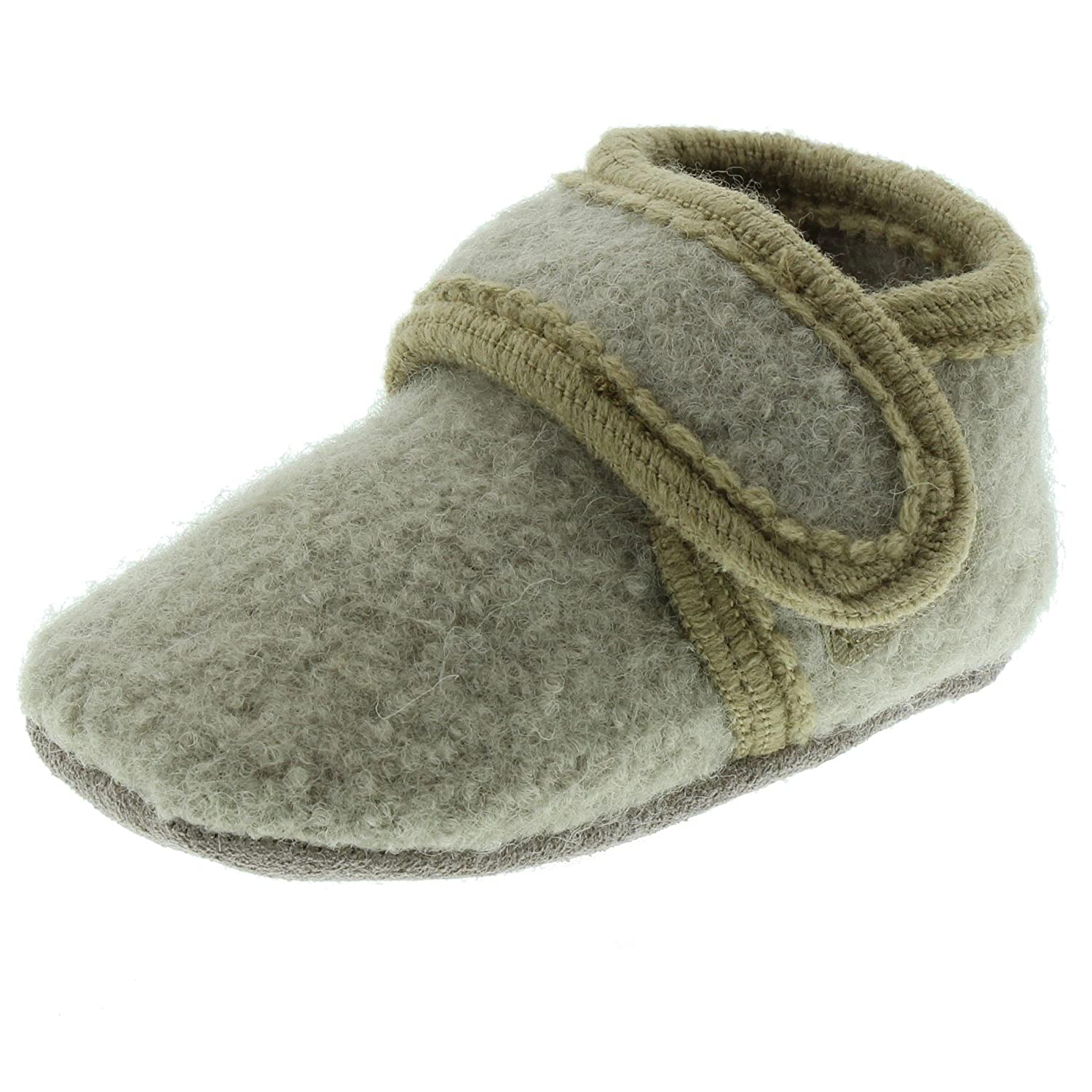 CeLaVi Wool Baby Girls Boys Shoes Baby Toddler Soft Sole Prewalker First Walker Crib Shoes