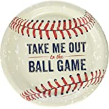 Baseball Time Party Supplies - Dinner Plates (8) by Party Destination