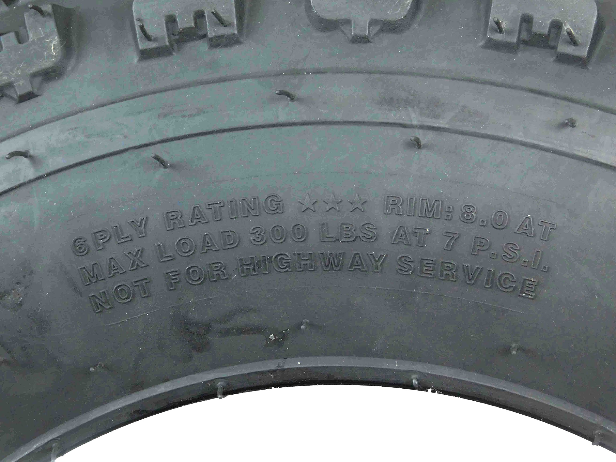 New MASSFX ATV Sport Quad Tires 21X7-10 20X10-9 6 Ply Dual Compound Front Rear For Yamaha Raptor Banshee Honda 400ex 450r 660 700 400 450 350 250 (Four Pack two Front 21x7-10 and Two Rear20x10-9 6) by MassFx (Image #9)