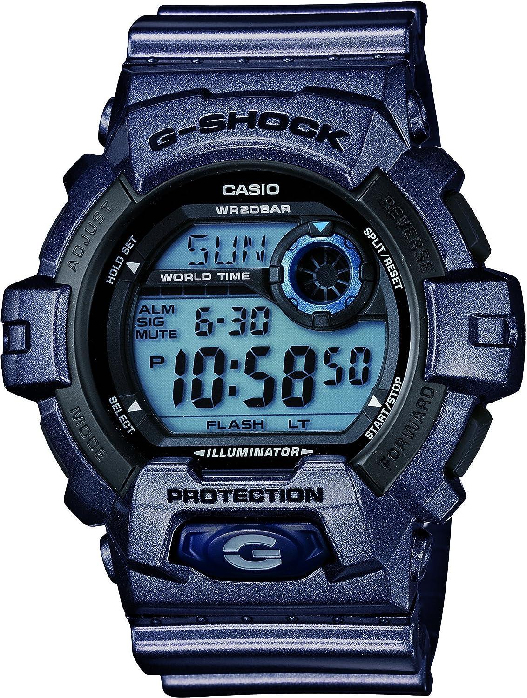 Casio G-Shock Black Dial Men s Quartz Watch – G8900SH-2