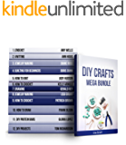 DIY Crafts MEGA BUNDLE: 12 Amazing Guides on Knitting, Crocheting and Other!