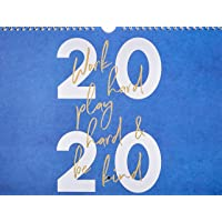 Work Hard, Play Hard & Be Kind: 2020 Wall Calendar