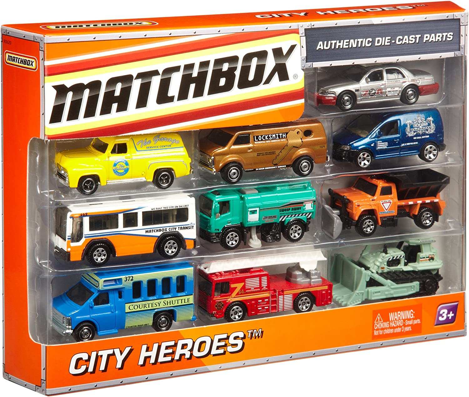 Matchbox On A Mission: 10-Pack Car Set (Styles May Vary): Amazon.es: Juguetes y juegos