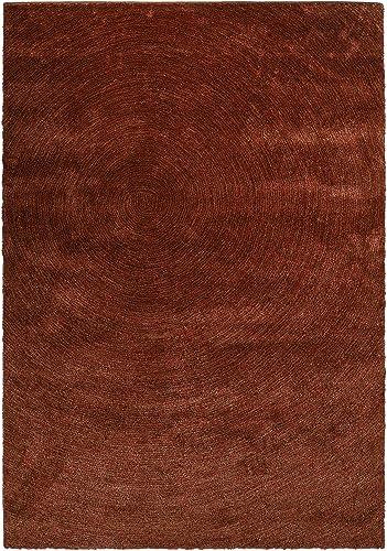 LOCHAS Plush Shag Area Rug Gradual Change Runner Rug Fluffy Rug for Living Room, Dining Room, Bedroom, Hallway Carpet, 5.2 x 7.5