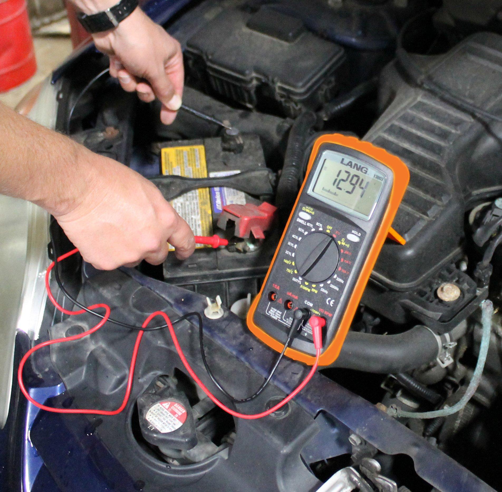 Lang Tools 13803 Automotive Digital Multimeter by Lang Tools (Image #2)