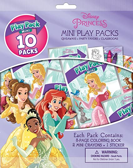 b6a094fc05401 Amazon.com  Disney Princess Bendon Mini Play Packs  Toys   Games