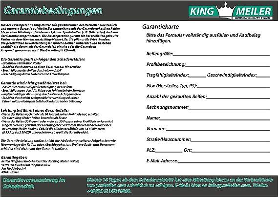 King Meiler Life 205 65 R16c 107 105t Snowice Winterreifen Pkw Auto