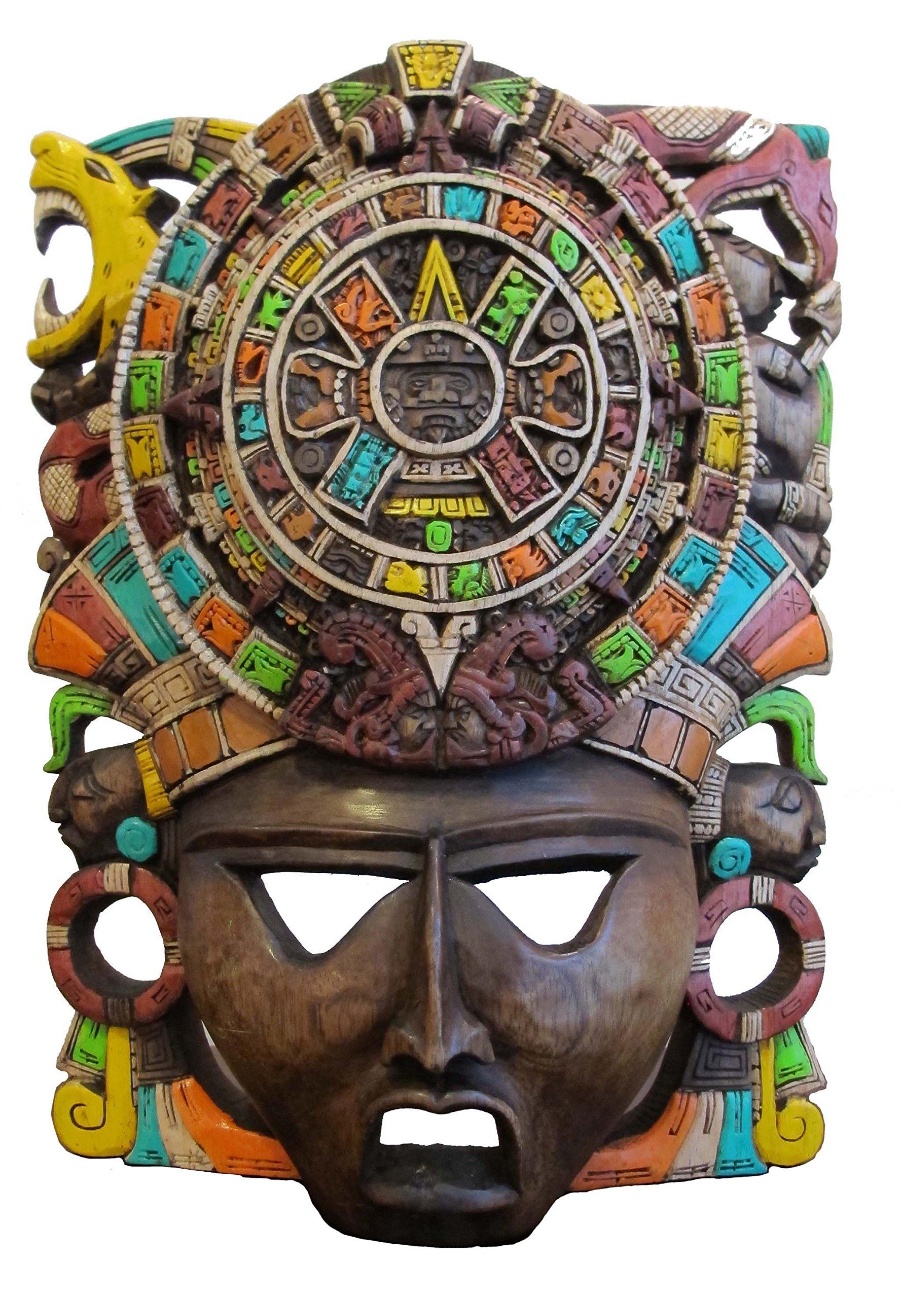 Sofia's Findings Mayan Mask - Aztec CalendarPremium Craft