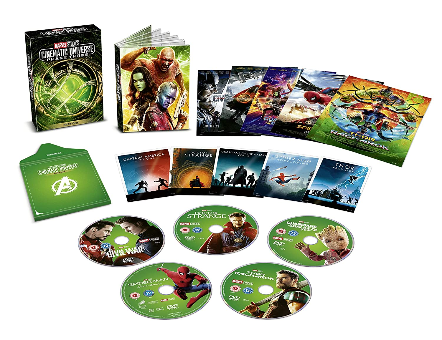 Marvel Phase 3 Part 1 Box set [Italia] [DVD]