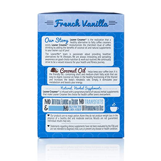 Leaner Creamer Creamer Creamer Francesa Vainilla No Láctea ...