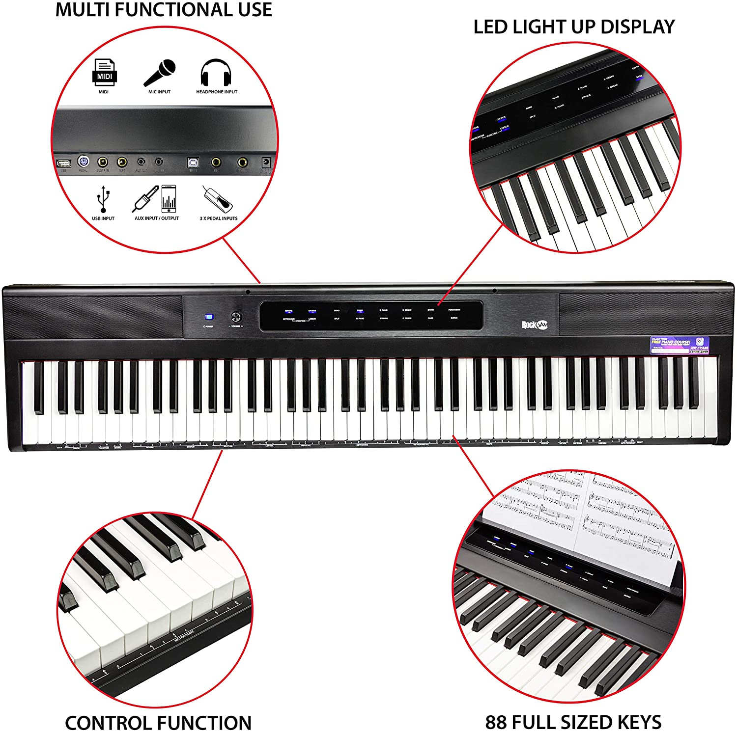 Best Digital Piano Under $300