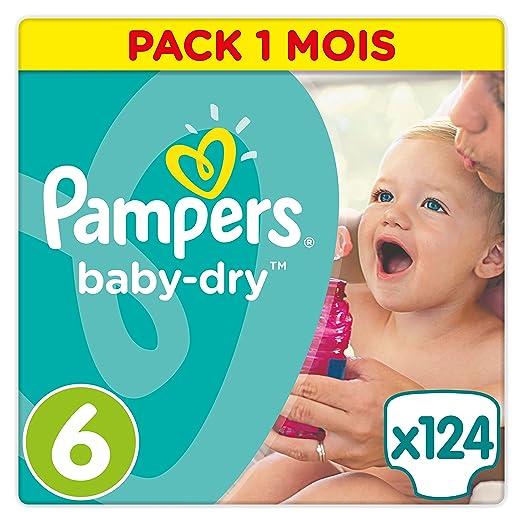 86 opinioni per Pampers Baby Dry, 124 Pannolini, Taglia 6 (15-30 kg)