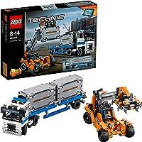 Lego Technic - Le transport du conteneur - 42062 - Jeu de Construction