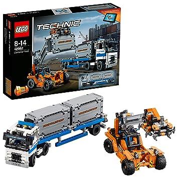 Lego Technic 42062 Container Transport Amazonde Spielzeug